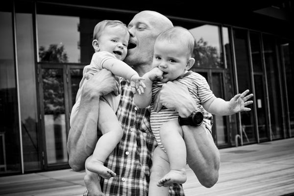 Fotograf tvillinger