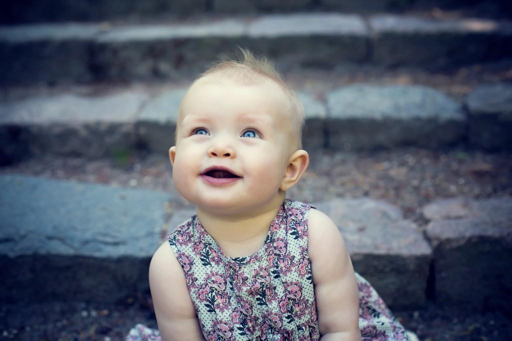 babyfoto udendørs