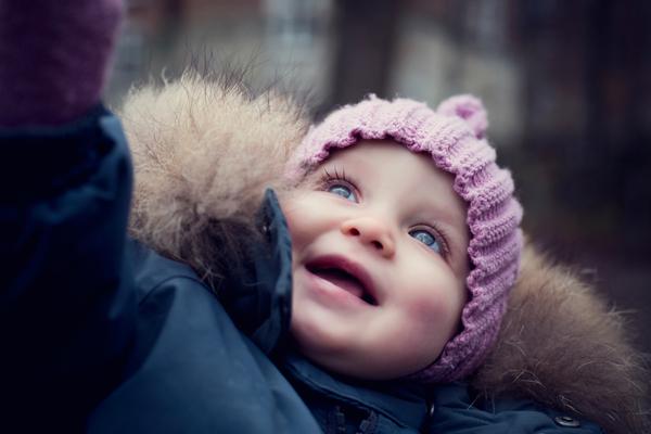 babyfotografi udendørs