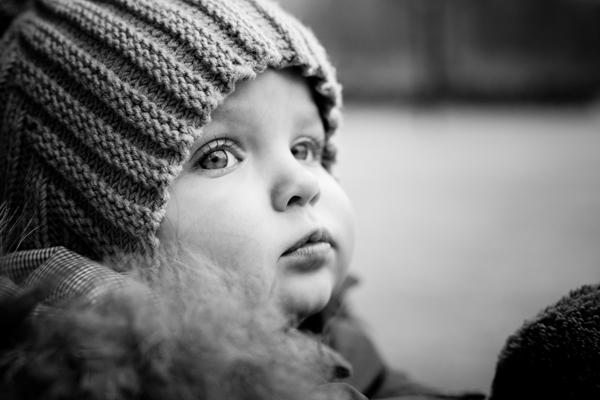 babyfoto udenfor