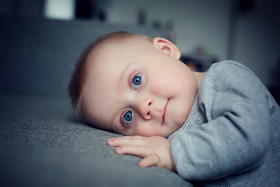 Babyfotograf hjemme