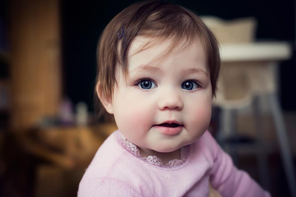 baby portrætter hjemme