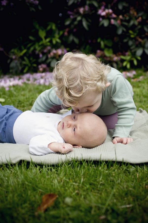 udendørs babyfotograf